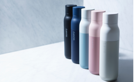Your Water Bottle is Filthy, QUARTZ Bottle is Clean
