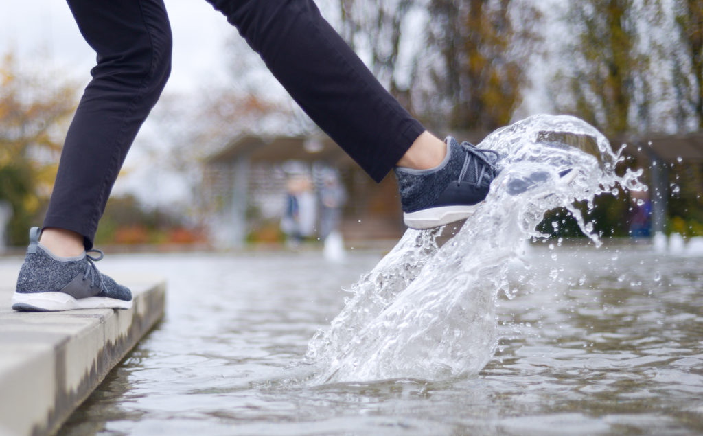 Vessi 100% Waterproof Shoes on Kickstarter