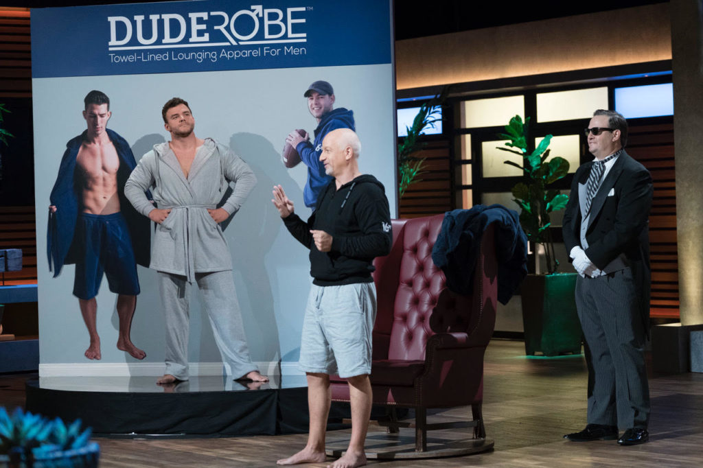 DudeRobe on Shark Tank
