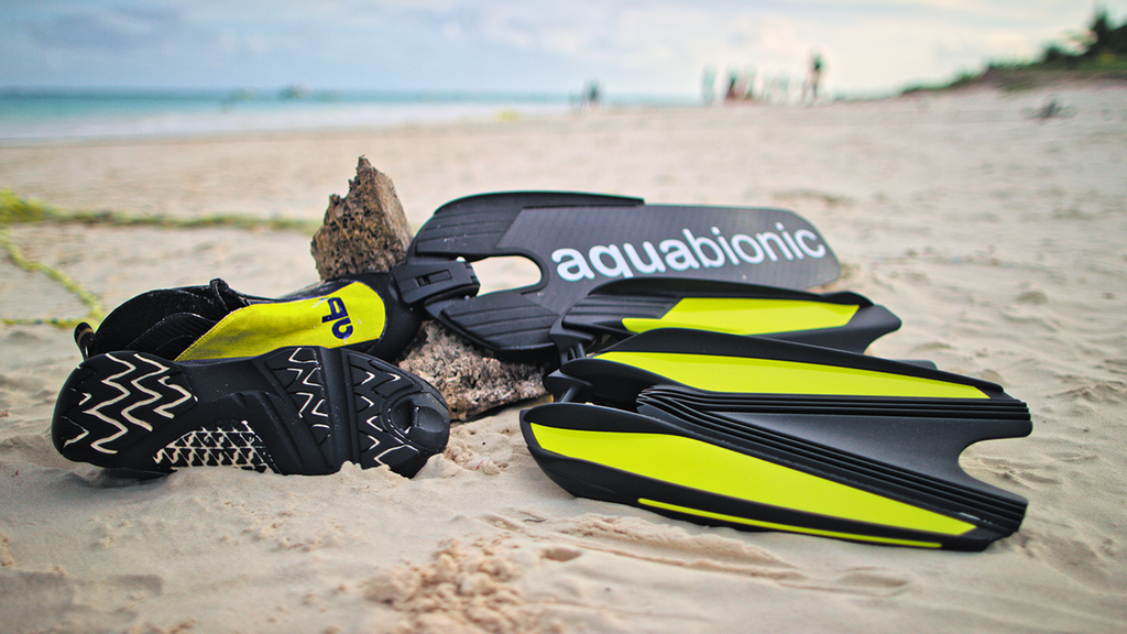aquabionic | Kickstarter's Revolutionary Hybrid Flippers Kick A**