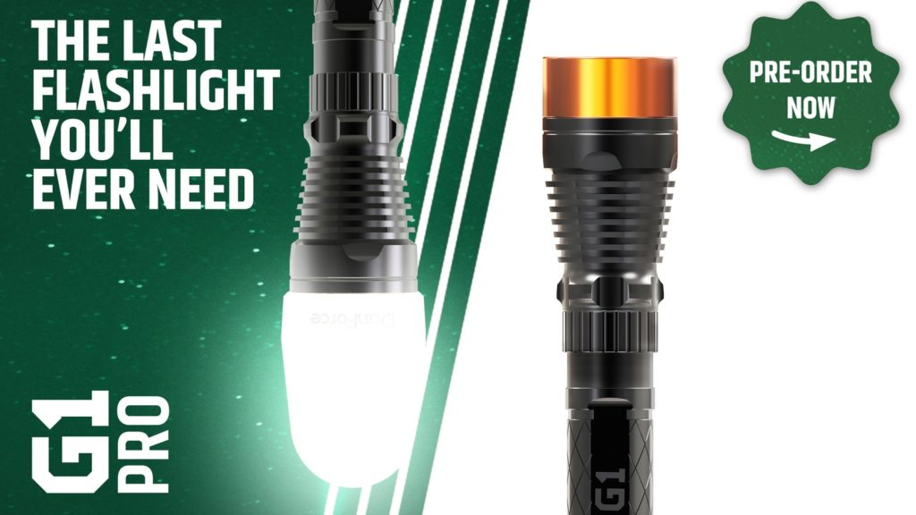 DanForce G1 Flashlight Kickstarter