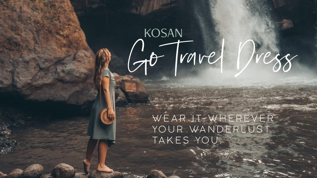 Kosan Go Travel Dress Kickstarter