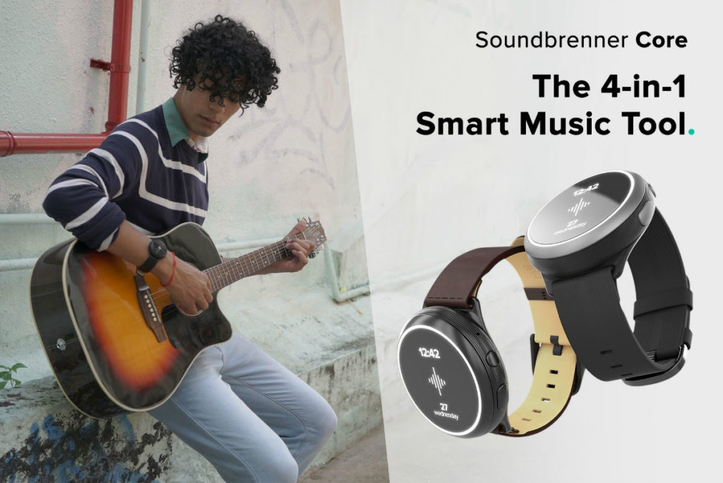 Soundbrenner Core 4-in-1 Smart Music Tool