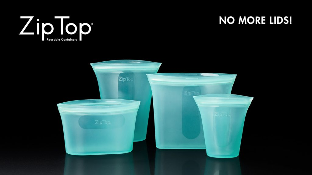 Zip Top Containers Kickstarter