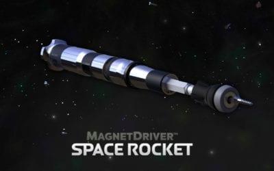 Magnet Driver Space Rocket